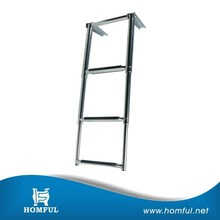 standard small craft designed for fisherman stainless steel ss boat marine folding ladder