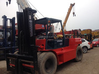 Used Toyota forklift 15 ton, FD150, Original from Japan