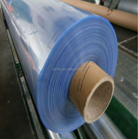 PVC Transparent Film Blue Clear Plastic PVC Sheet Rolls