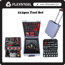 186PCS Aluminium Case Complete Tool Set Tool Box with Tools