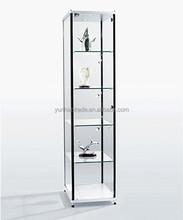 Aluminum Charming Fashionable Style Glass Showcase