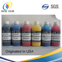 Eco Solvent compatible Ink for Epson/Mimaki/Roland Inkjet Printer Factory Price