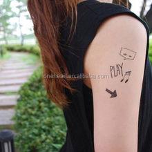 Custom FAKE TATTOOS- Enjoy your life 1Tattoo Sticker,flash tattoo,Temporary Tattoo Stickers