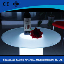 High quality hot selling rgb colorful light up bar table illuminated led table