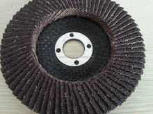 "T27 4"" Ceramic and radial Flap disc For Stainless steel"