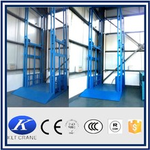 Stationary hydraulic car lifting platform, post lift