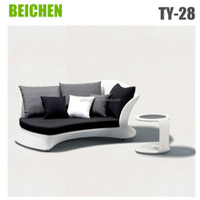 beichen Rattan Chaise Lounge For Outdoor Use
