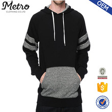 2015 Custom Made High Quality Thick Fleece Hoody Sweatshirt Wholesale