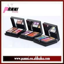 OEM Private Label 23 color eyeshadow + blusher + lipgloss + eyeliner pencil + mir