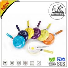 Hot-selling Aluminum Non -stick Pressed Mini Egg Pan With Spatula