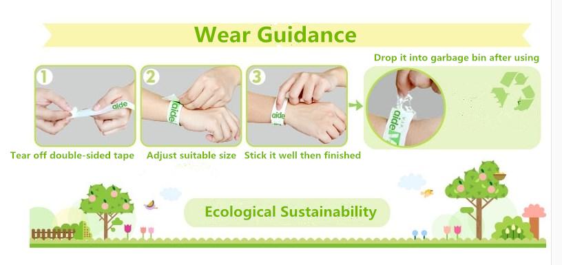 2014 Hot vente promotionnel Tyvek Wristbands / jetable étanche bracelets