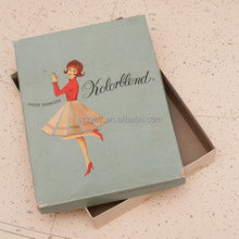 full color print elegant stocking packaging box