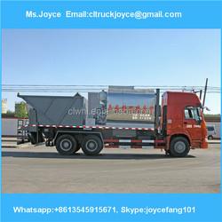 Sinotruck Howo Bitumen Crush Stone Paver Truck,Asphalt Penetration Macadam Chip Sealer For Sale