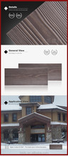 High quality decorative exterior wall exterior wood siding panels