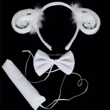New style Children's Performing supplies Claw sheep headband for Birthday Children's Day
