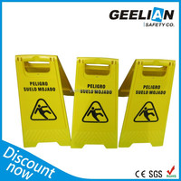 2015 new model diy printing Caution Board For Wet Floor