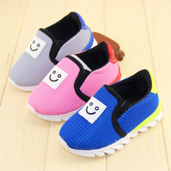 TSW4017 Wholesale kids running shoes breathable fashion slip on baby sports shoes
