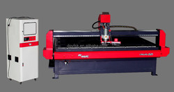 easy operation cnc 2525 honey comb plate cutting cnc router metal cutting machine
