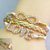 Europe new design popular friendship bracelet for girls Gold tone Fashion Bracelet FB074