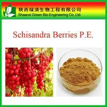 100% Natural Schisandra Berries P.E. Schisandrins 2-9% by HPLC