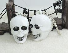 Halloween led sound key chain/keyring