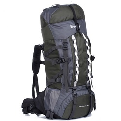 Large capacity 80L tactical camping mountaineering backpack bag