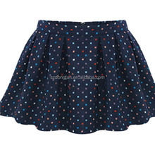 Fashionable Style Full Color Lump Knit A-Line Women's short Skirt