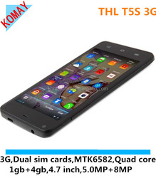 KOMAY ThL T5S Smartphone Android 4.2 MTK6572W Dual Core 1.2GHz 3G GPS 4.7 Inch IPS Screen