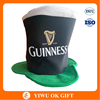 Party Wholesale Guinness Saint Patrick Day Velvet Hat