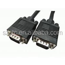 stc cable wholesale DVI to VGA Cable DVI to VGA HD 15pin 2m and 9pin cable for computer LCD