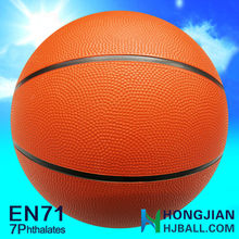 2015 best rubber basketball promotional 5