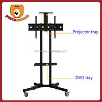 """For TVs up to 32""""-70"""" screen movable and free standing up and down lcd tv stand"""