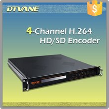 4 IN 1 HDMI MPEG4 H.264 Encoders with TSoIP out