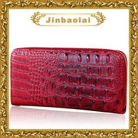 Cheap ladies fancy purses ethnic woman wallets crocodile skin wallet
