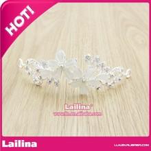 Crown wedding crown bride crown tiara,Promotional Wedding crown,Fashion TIARA / RHINESTONE / LUCITE BEAD