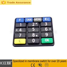 flexible rubber silicone arabic keyboard