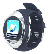 1.3 inch Touch Screen GPS Watch Phone(Support Bluetooth,MP3/MP4/ FM,WAP)(WP-PG88)