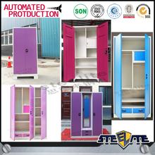 Hot factory sale indian metal cupboard/bedroom metal cupboard design