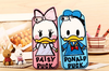 Lovely Cartoon couple Donald & Daisy Duck mobile phone Cases For iPhone