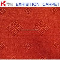 Popular cheapest plain carpet with jacquard design