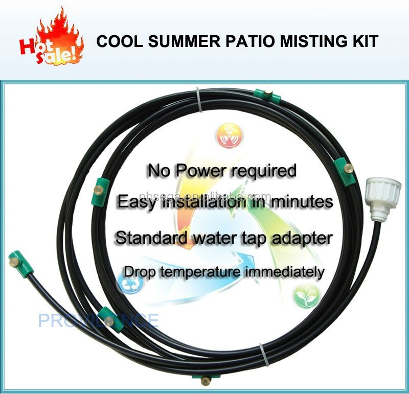 Patio Misting Systems Lowe S : Low pressure misting system buy