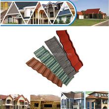 Stone coat low price varied colors roof tiles kerala, terracotta metal roof tile