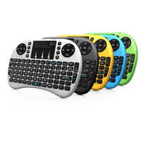 DIHAO Mini i8 Wireless Rechargeable Keyboard Touchpad Fly Air Mouse ship from original factory