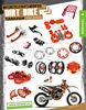 High Strength CNC Aluminium Motorcycle Parts for KTM SX 250 Parts
