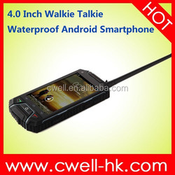 2015 Landrover V6 Walkie Talkie Rugged Smartphone Android 4.2 4.0 Inch Capacitive Screen 8.0MP Walkie Talkie With Sim Card