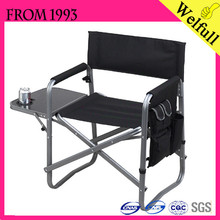Wholesale 2015 Cheap 600D Polyester Aluminum Canvas Director Folding Chair for Sale
