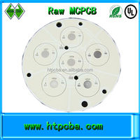 double side led pcb raw pcb rogers material pcb