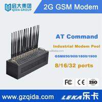 Bulk sms and voice sending ,Gsm modem 16 ports/rs232 gprs terminal