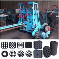 Energy saving honeycomb coal briquetting machine for coal powder