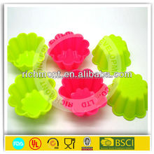 Silicone Brownie Bowls Bake & Fill Mini Cake Pans Mold Sundae Dessert Cups